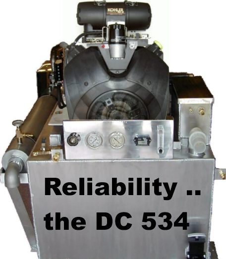 Dc534r Truckmount 32 5hp 4mr Hx W Ro Rinse Dc534