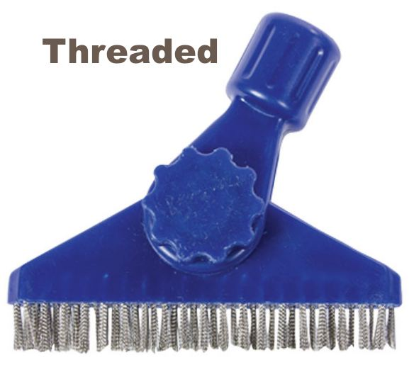 Stainless Steel Wire Grout Brush Swivel No Handle