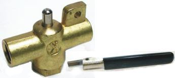 Kn54a 254a Kingston Valve 5 Steel Handle Kn54a 19